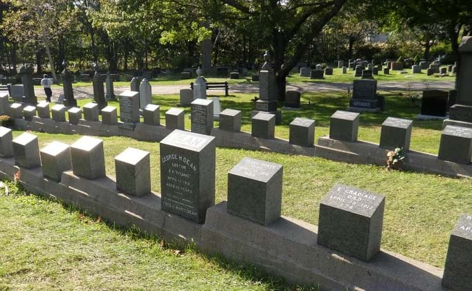 McNally Travel | Visit Halifax | Fairview Lawn Cemetery, Titanic Burial Grounds
