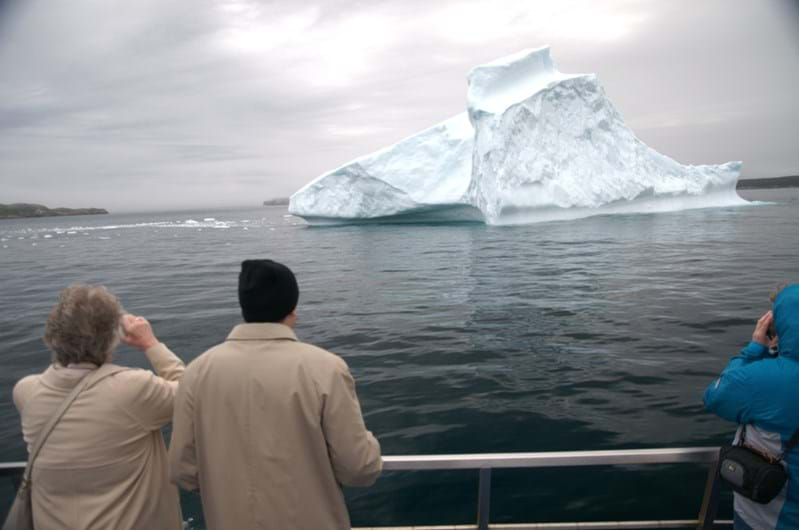 McNally Travel Blog | Springtime in Canada | Watching icebergs in Newfoundland
