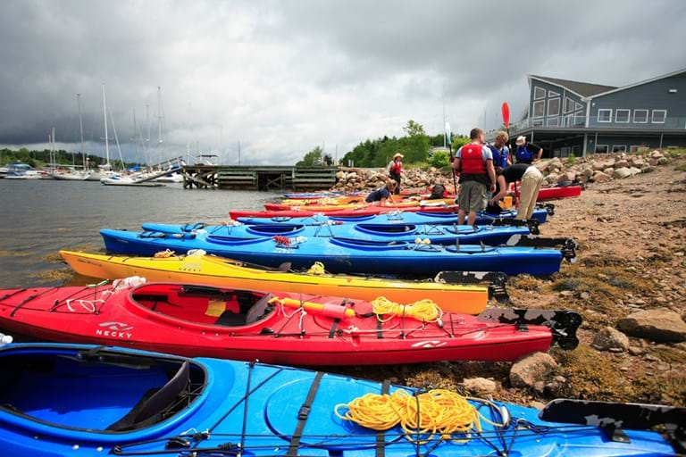 McNally Travel | Visit Halifax | Kayaks on the shore, Halifax