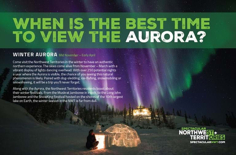 Aurora Borealis, Northwest Territories