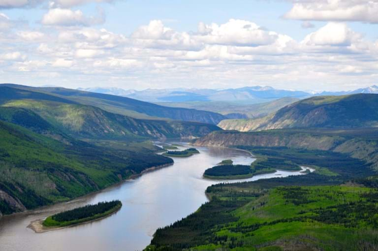 McNally Travel | Visit Dawson City | View from Midnight Dome Road